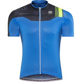 Sportful Bodyfit Pro Race Jersey Herren electric blue/black/green fluo